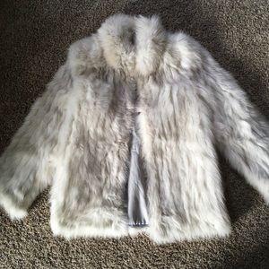 Saga Fox Authentic Fur Coat